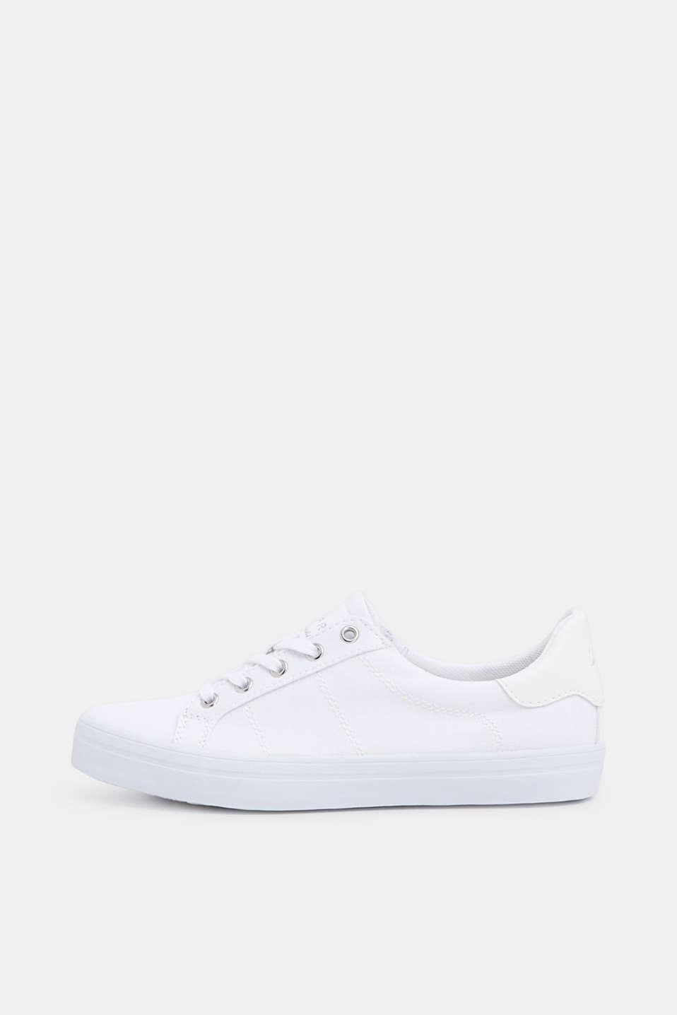 Esprit - Basic-sneakers i kanvas