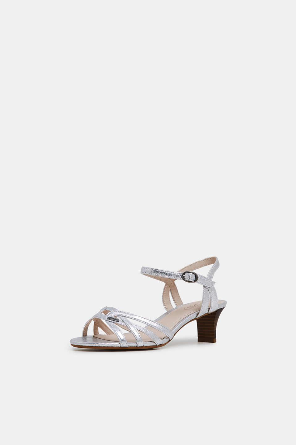 Formal Shoes textile, SILVER, detail image number 1