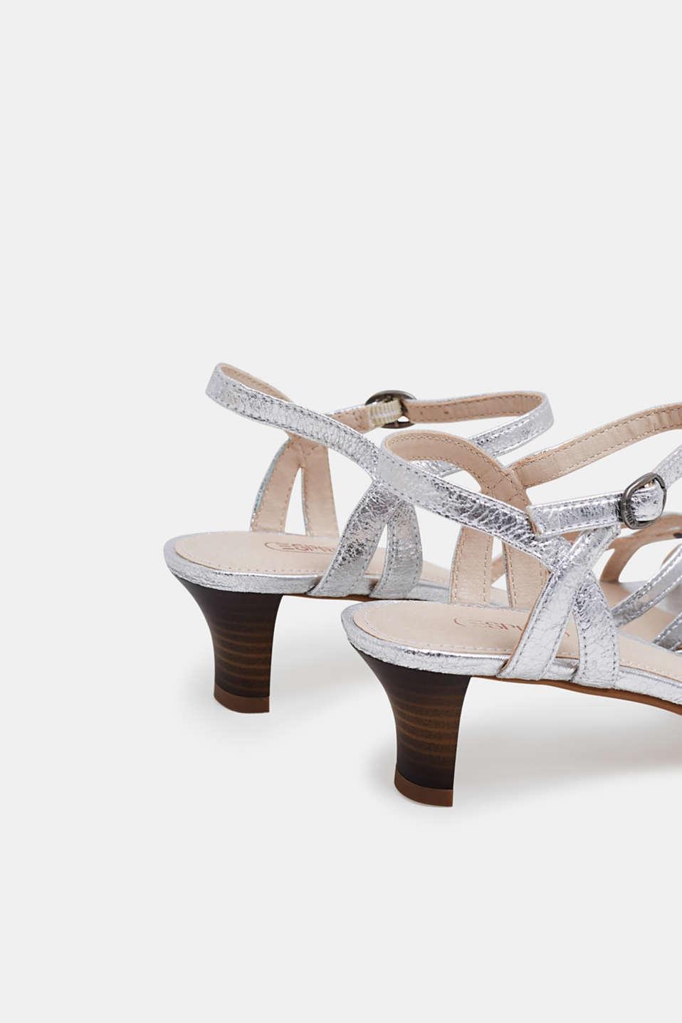 Formal Shoes textile, SILVER, detail image number 4