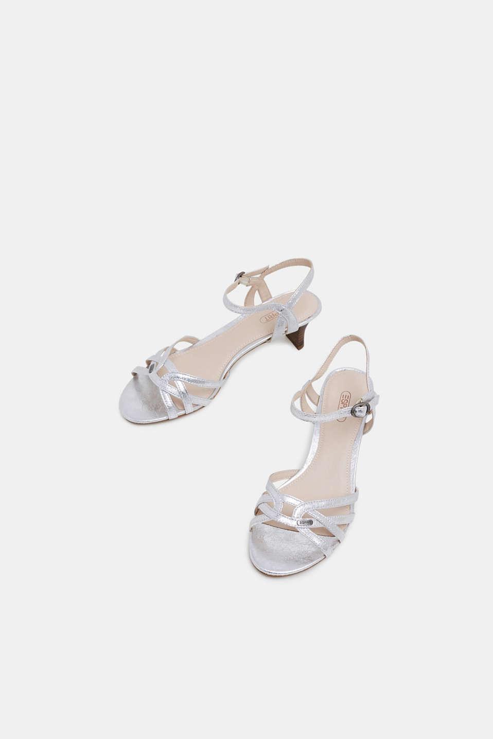 Formal Shoes textile, SILVER, detail image number 5