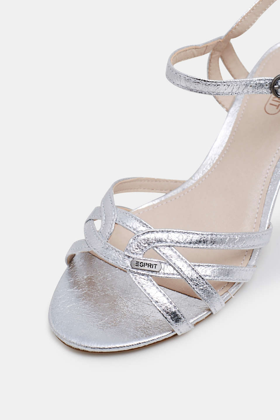 Formal Shoes textile, SILVER, detail image number 3
