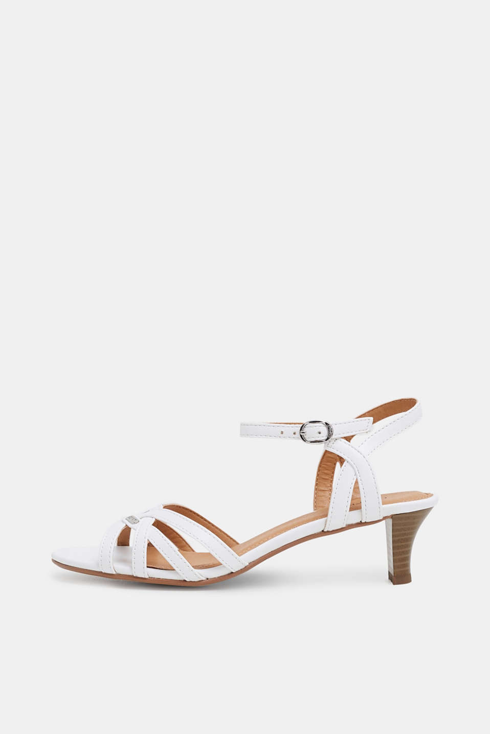 Esprit - Sandalette in Leder-Optik