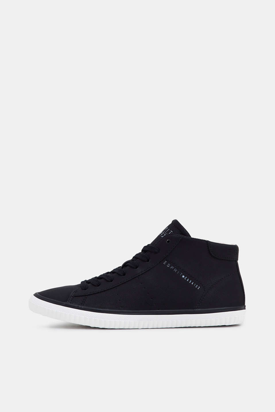 Esprit - High Top-Sneaker in Nubuk-Optik