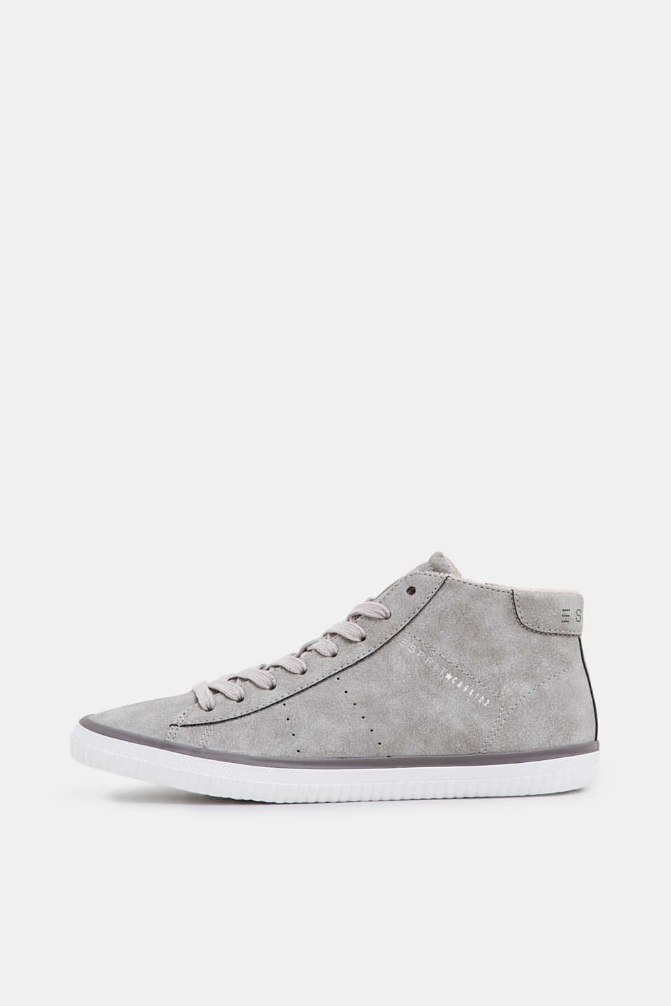 Esprit - High top-sneakers i nubuck-look