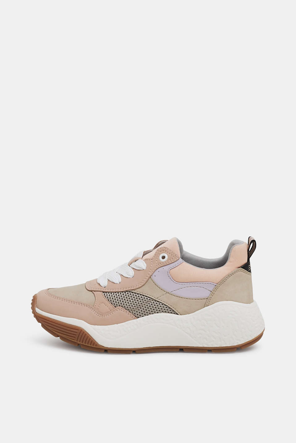 Trend trainers with an oversized sole, NUDE, detail image number 0