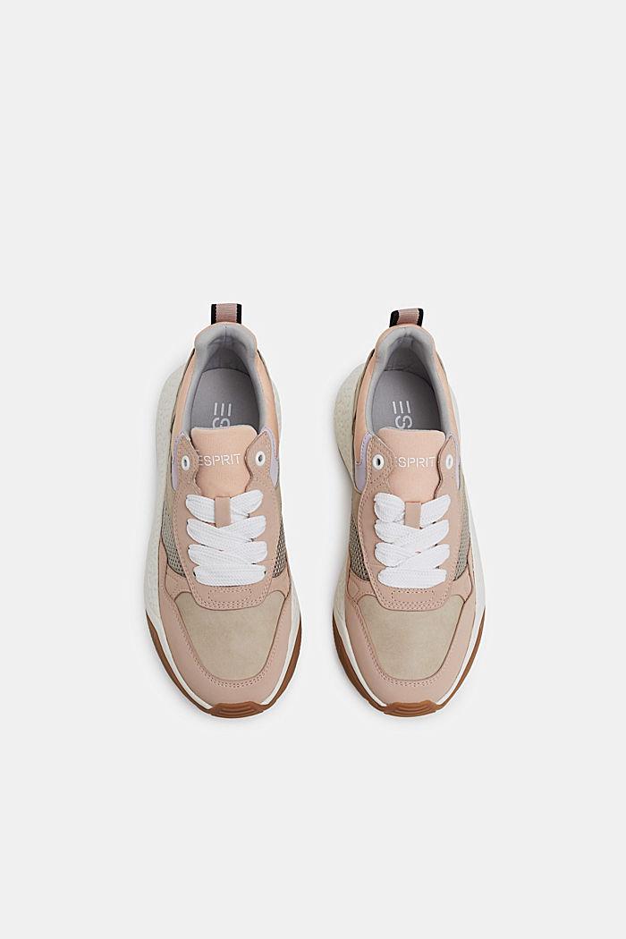 Modieuze sneakers met een oversized zool, NUDE, detail image number 1