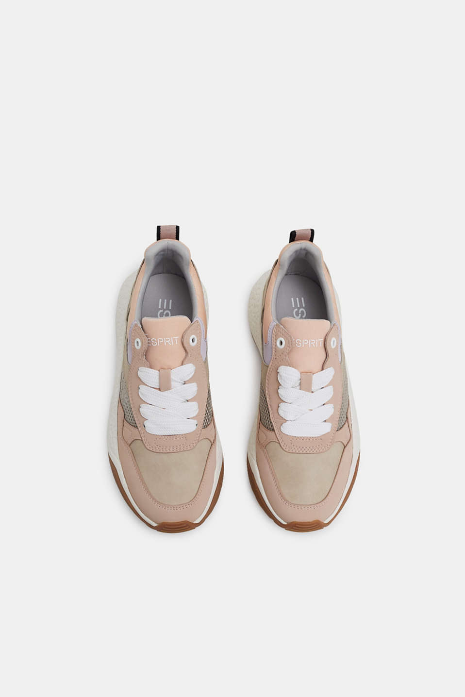 Trend trainers with an oversized sole, NUDE, detail image number 1