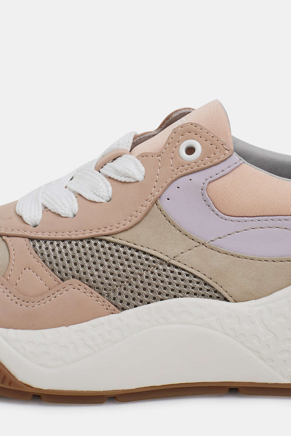 Trend trainers with an oversized sole, NUDE, detail image number 4