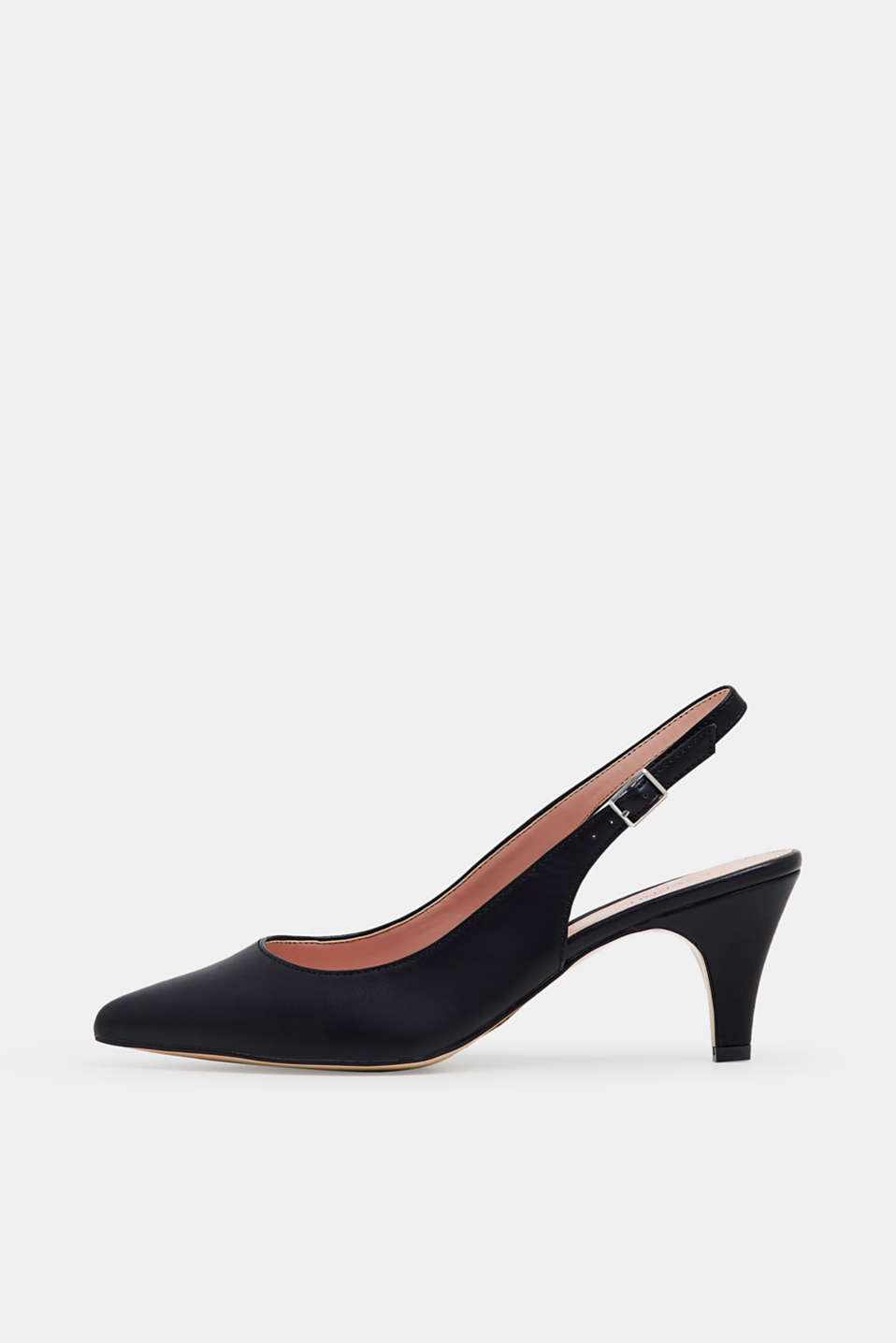Esprit - Slingback-pumps i læderlook