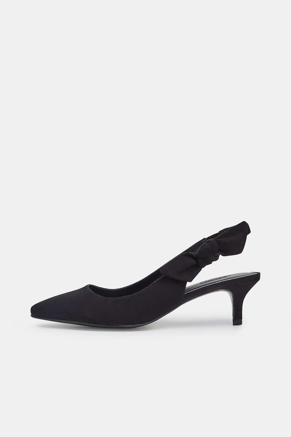 Esprit - Slingback pumps met strikdetail