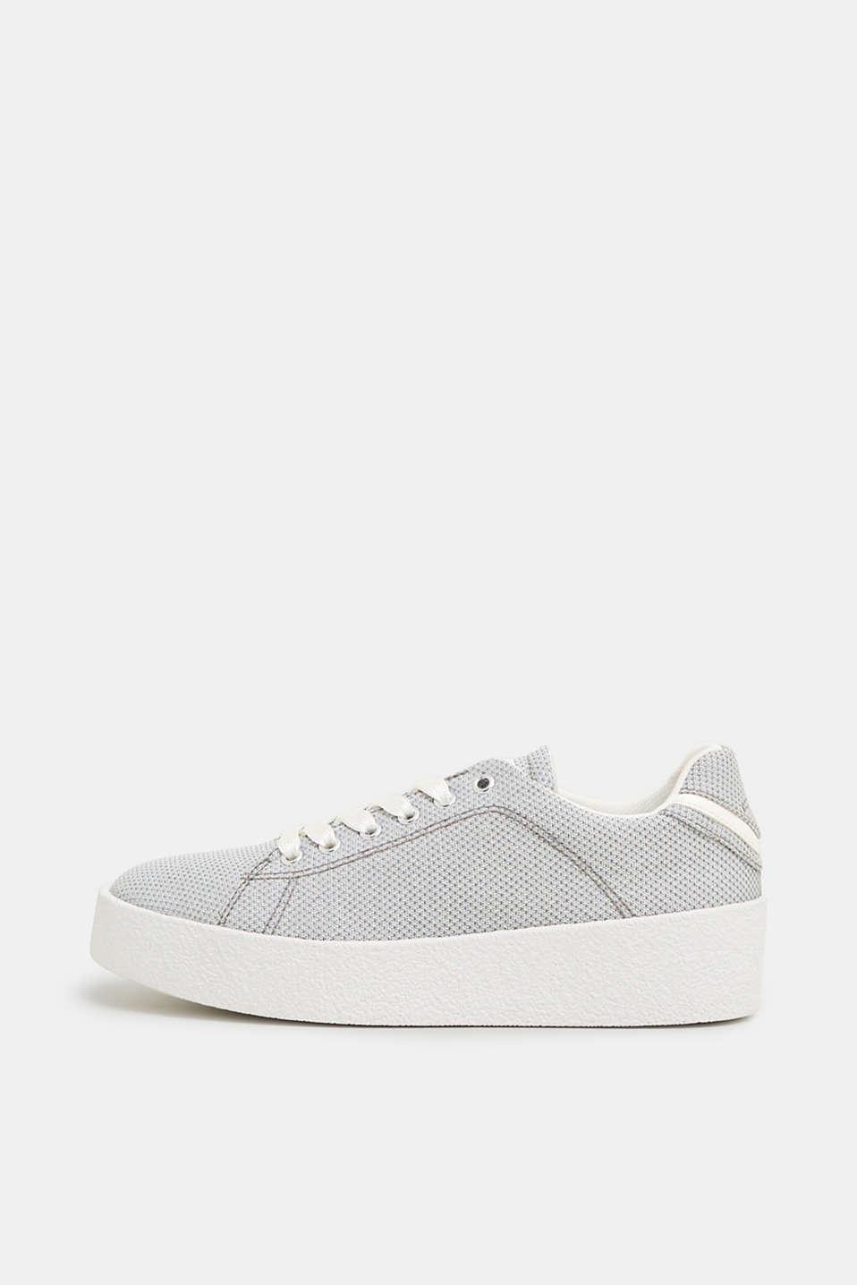057f31041b2806 Esprit - Glitter-Sneaker mit Plateausohle im Online Shop kaufen
