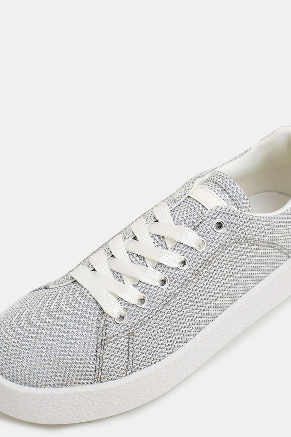 Casual Shoes textile, SILVER, detail image number 4