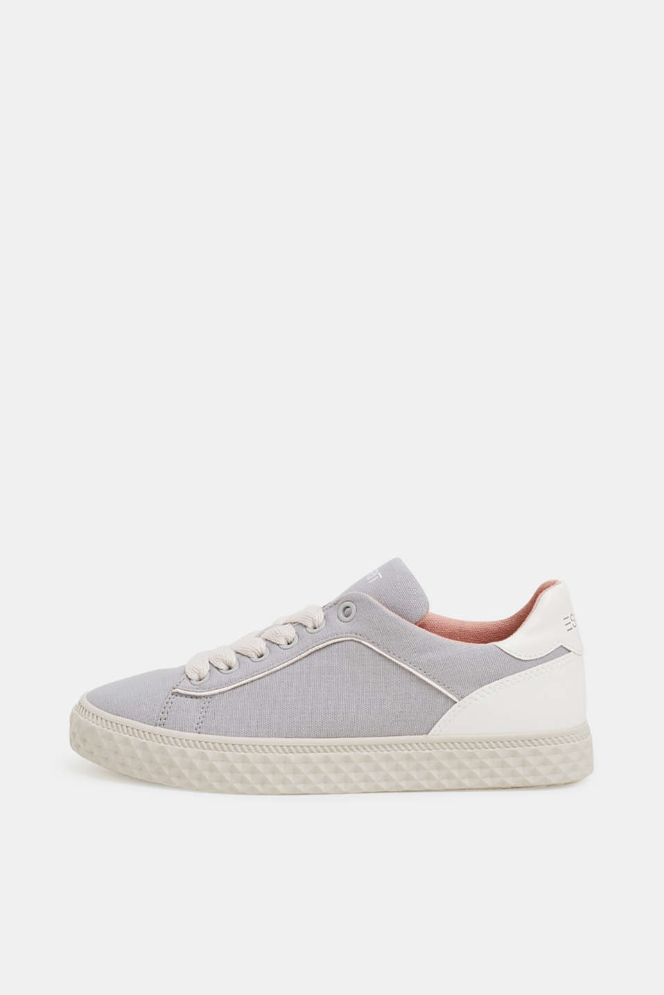 Esprit - Sneakers con mix di materiali