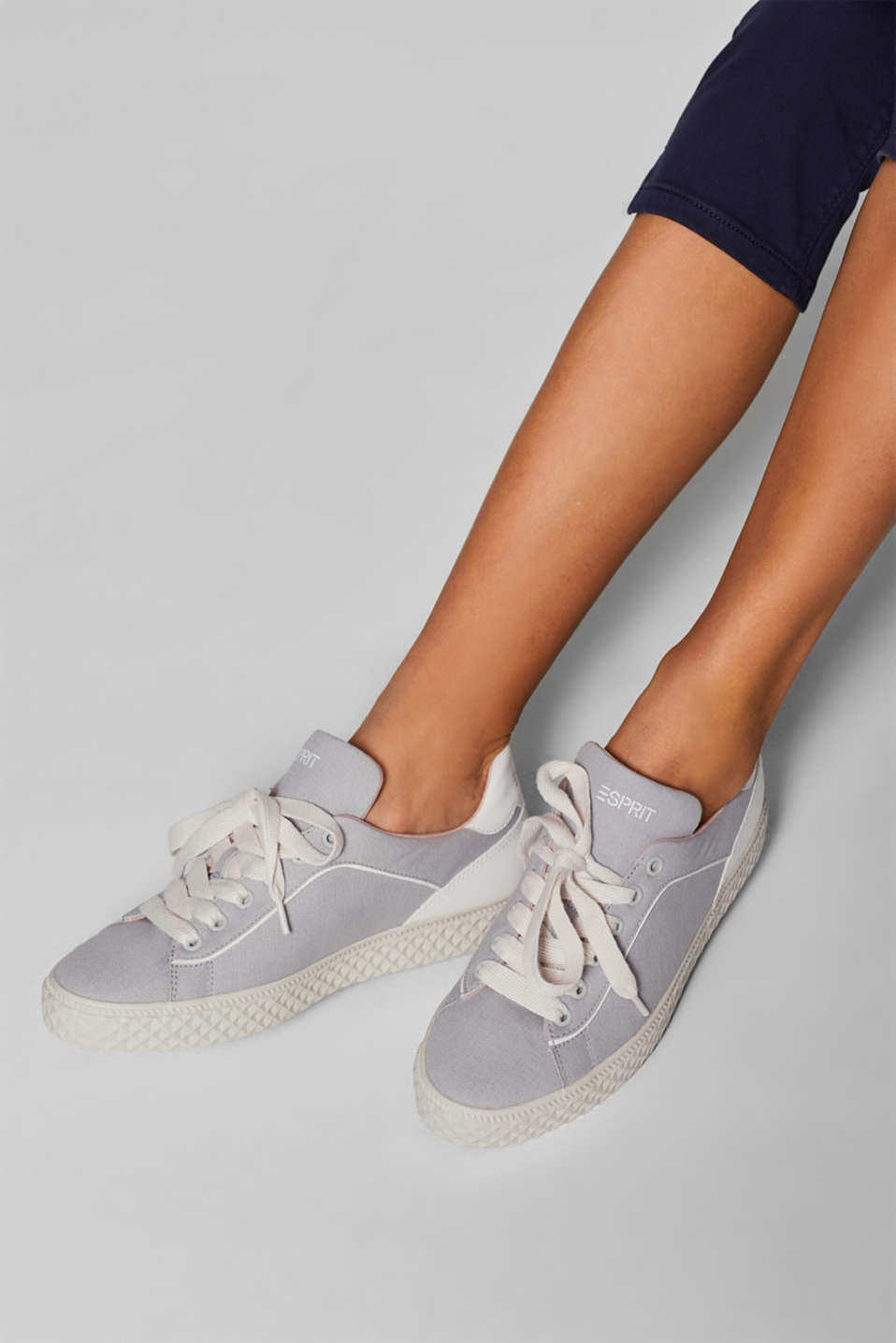Casual Shoes textile, MEDIUM GREY, detail image number 3