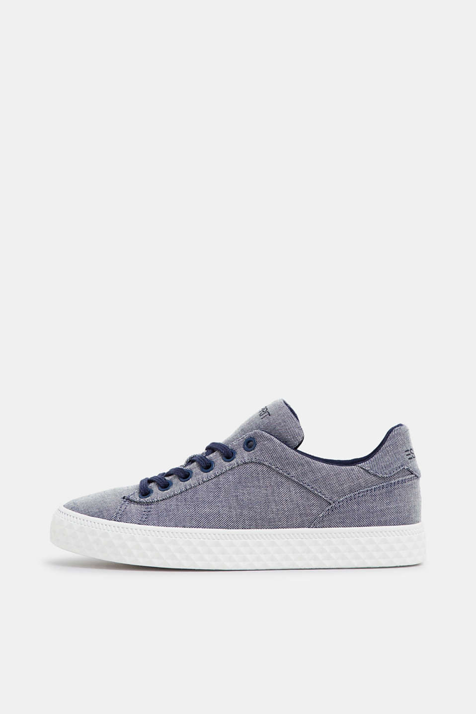 Esprit - Fashion trainers in cotton canvas