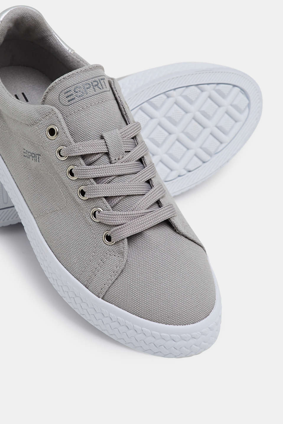 Casual Shoes textile, MEDIUM GREY, detail image number 4