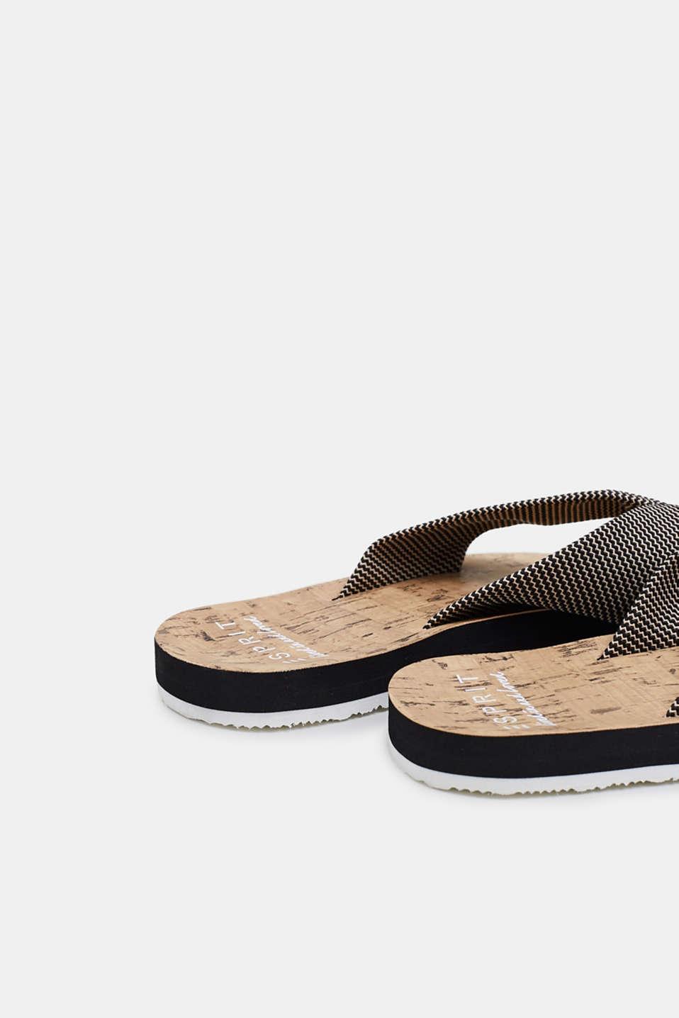 Various Shoes textile, BLACK, detail image number 3