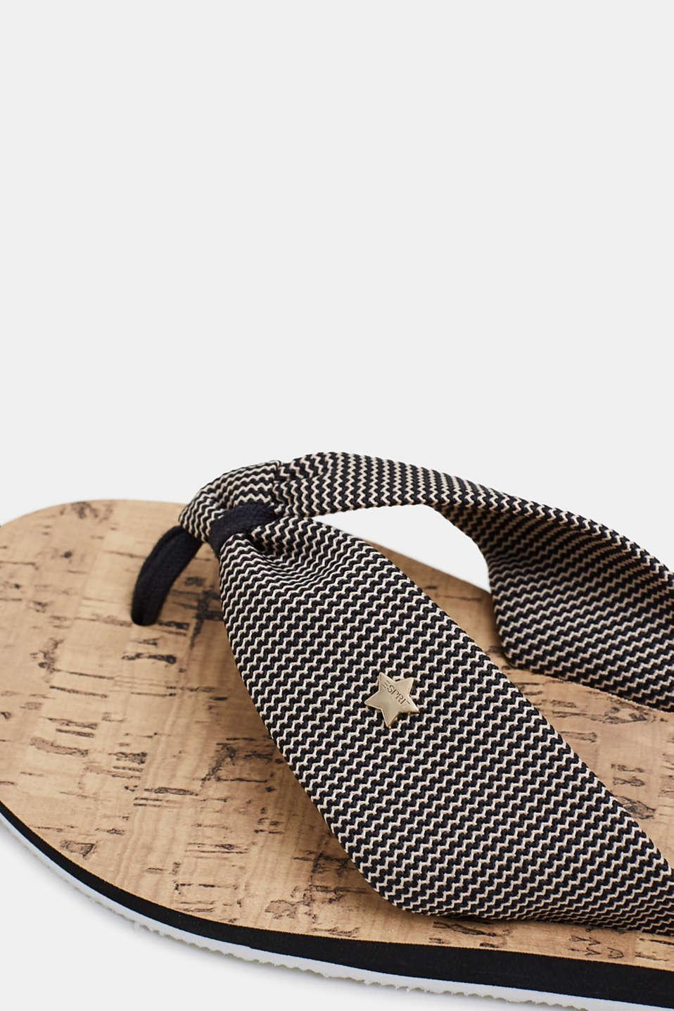 Various Shoes textile, BLACK, detail image number 5