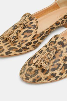 316d6e57be5 Esprit - Loafers met luipaardprint