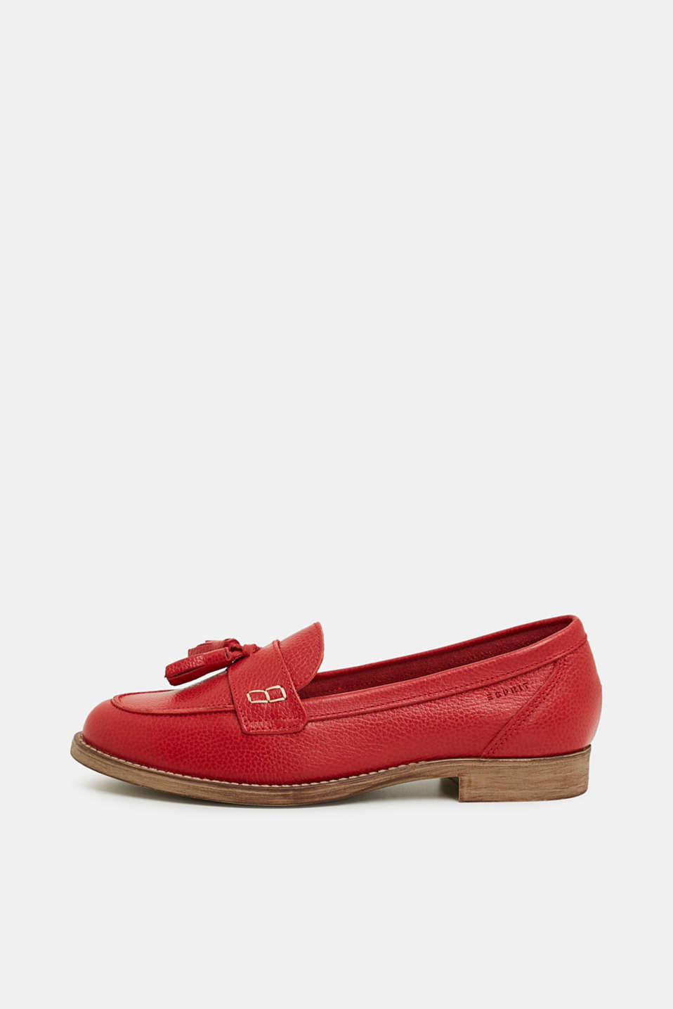 Esprit - Tassel loafers made of leather