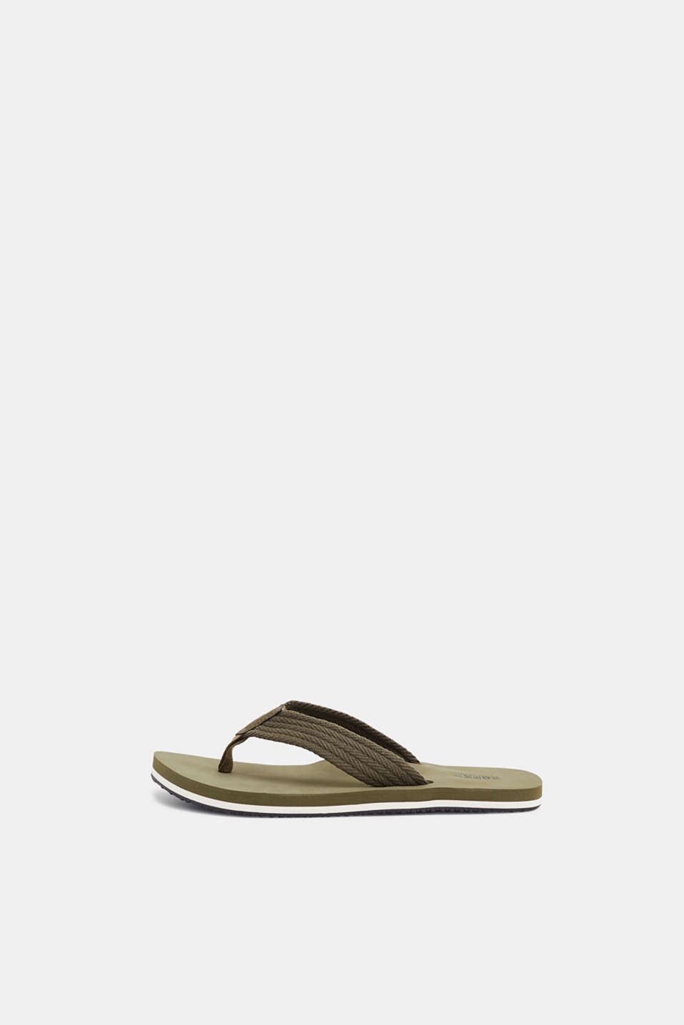 Esprit - Toe-post sandals with textile straps