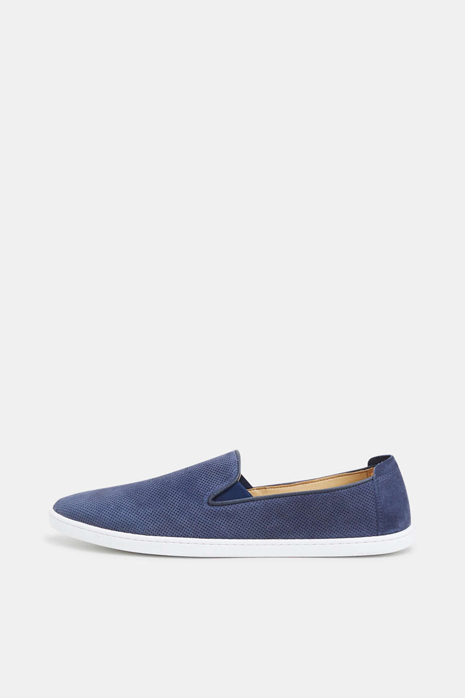Esprit - Slip-ons in perforated leather