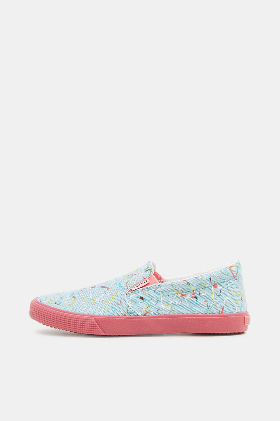 Esprit - Slip On-Sneaker mit Metallic-Print