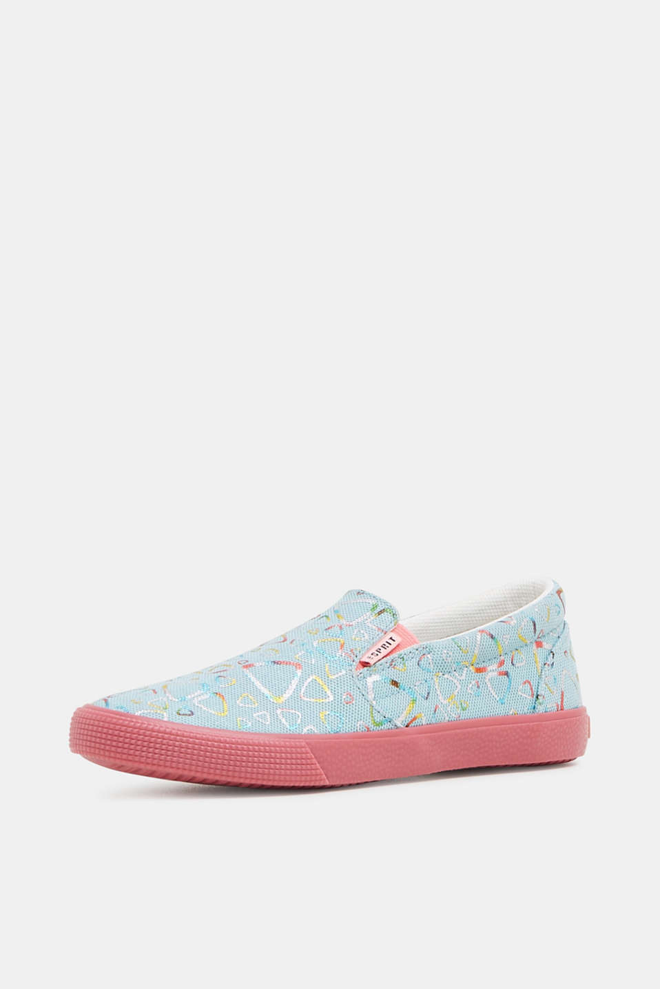Casual Shoes textile, LIGHT TURQUOISE, detail image number 2