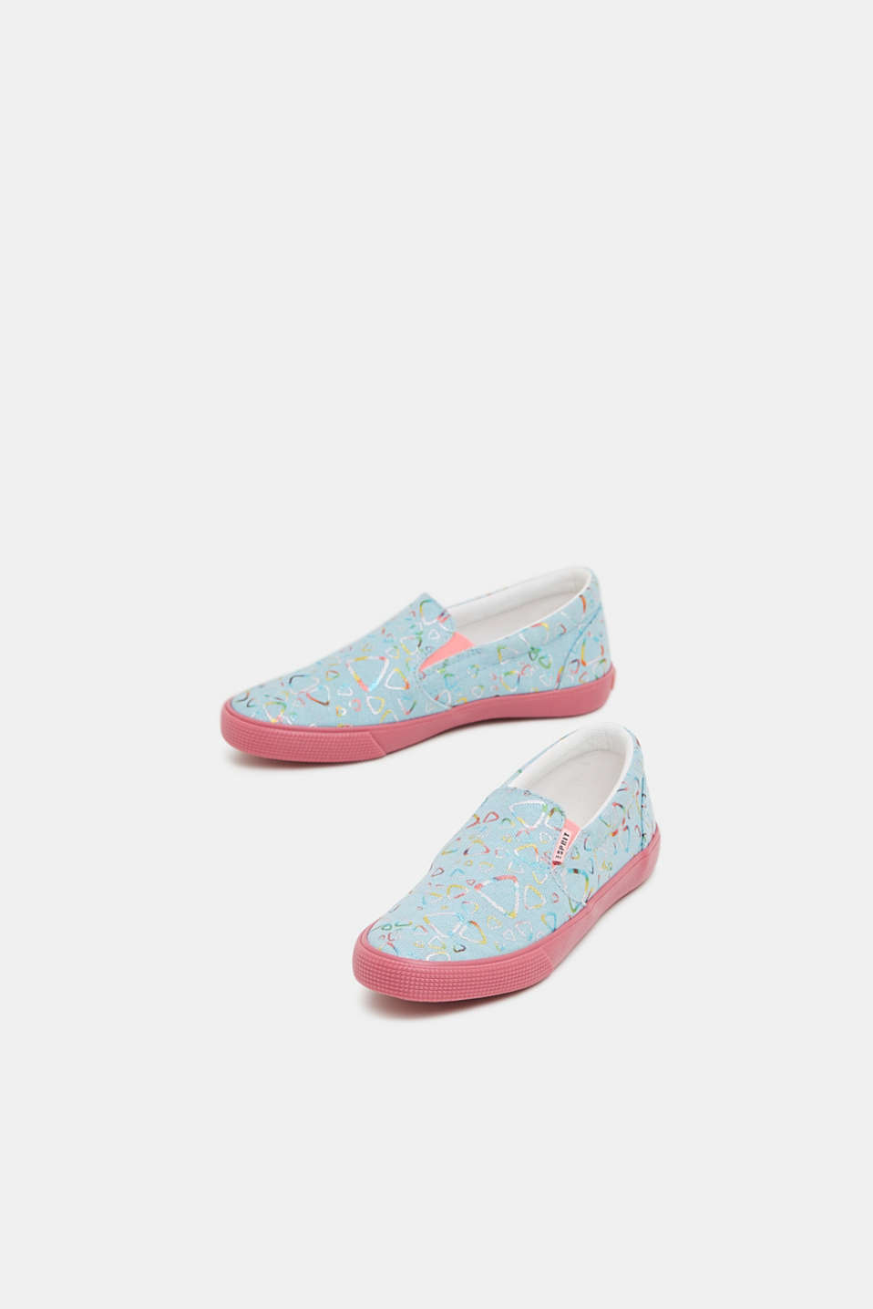 Casual Shoes textile, LIGHT TURQUOISE, detail image number 5