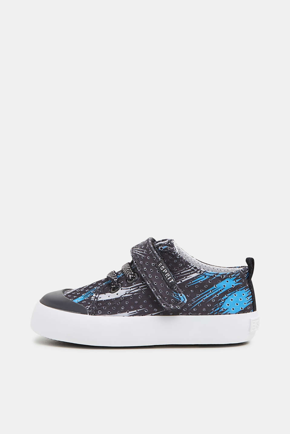 Esprit - Print trainers with an openwork pattern