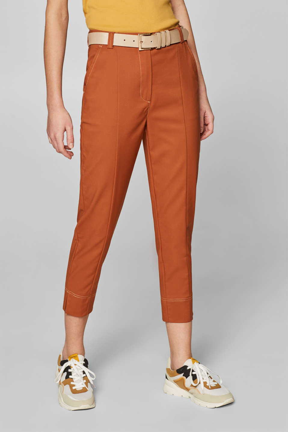 Pants woven, CARAMEL, detail image number 6