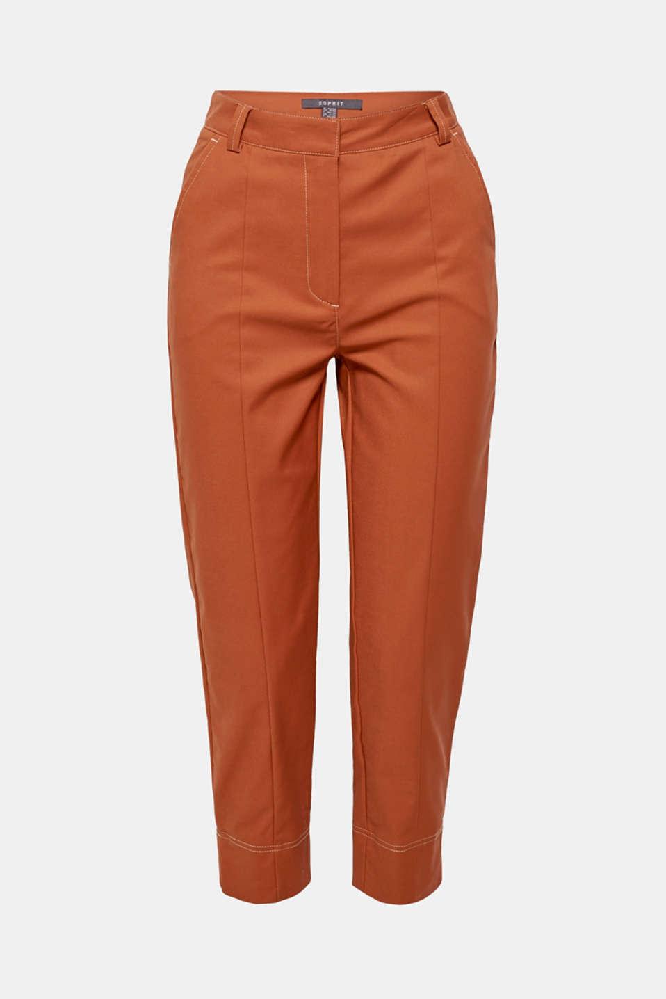 Pants woven, CARAMEL, detail image number 7
