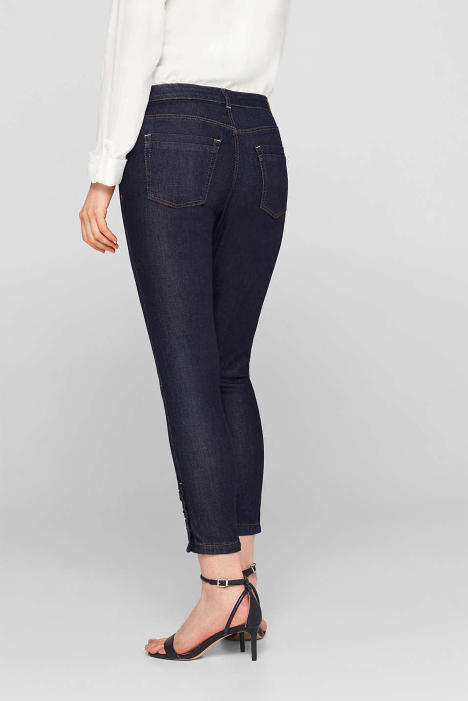 Pants denim, BLUE RINSE, detail image number 3