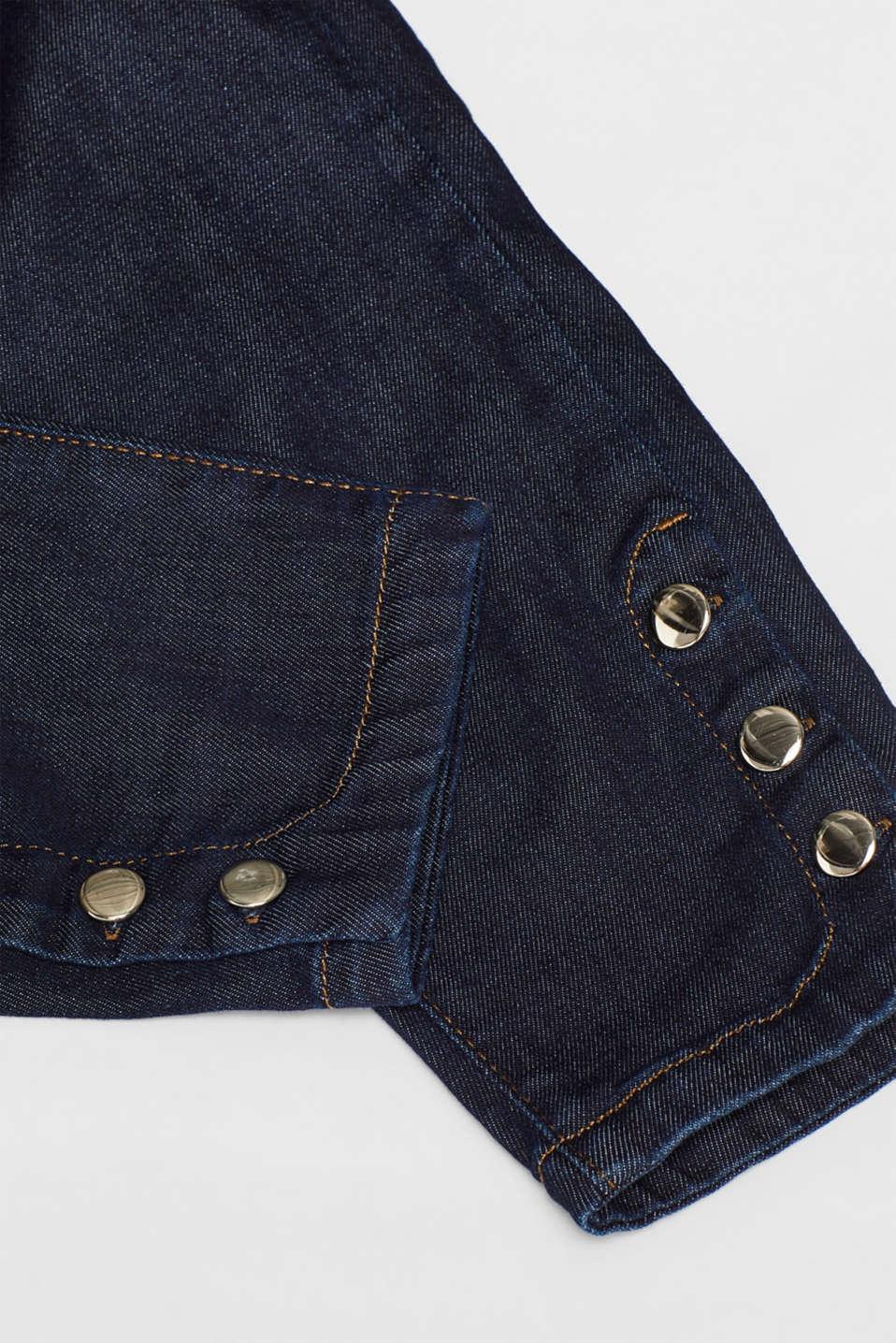 Pants denim, BLUE RINSE, detail image number 2