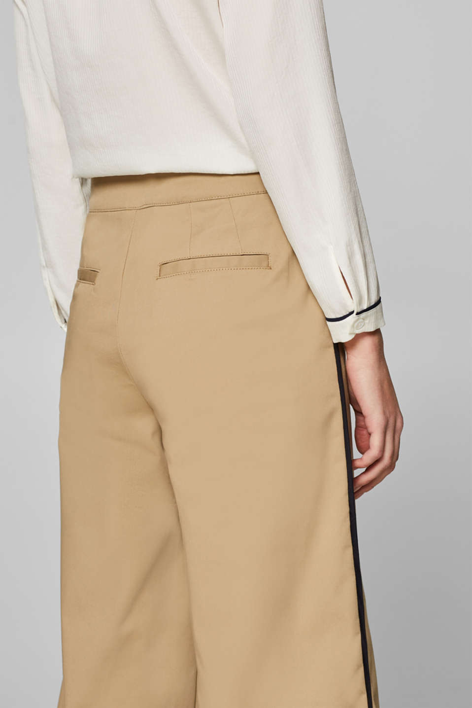 Pants woven, BEIGE, detail image number 5