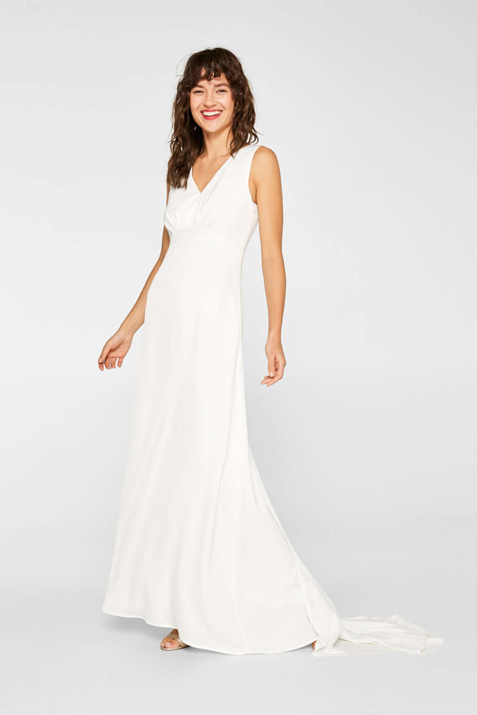 Esprit - Wedding dress with lace at the back