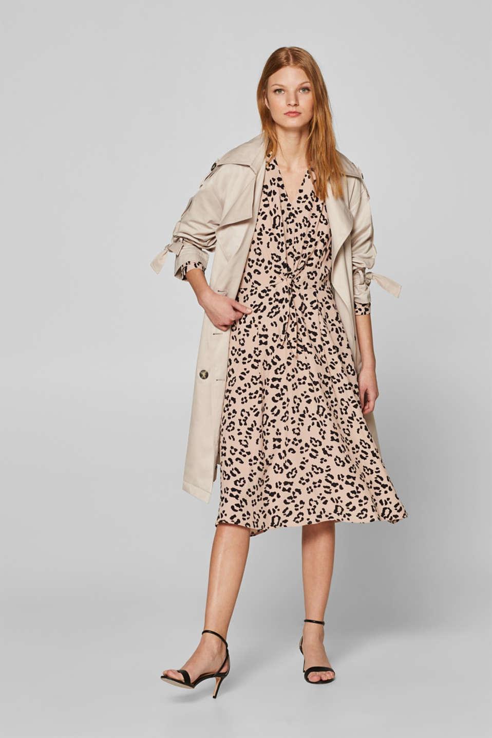 Dresses light woven, BEIGE, detail image number 1