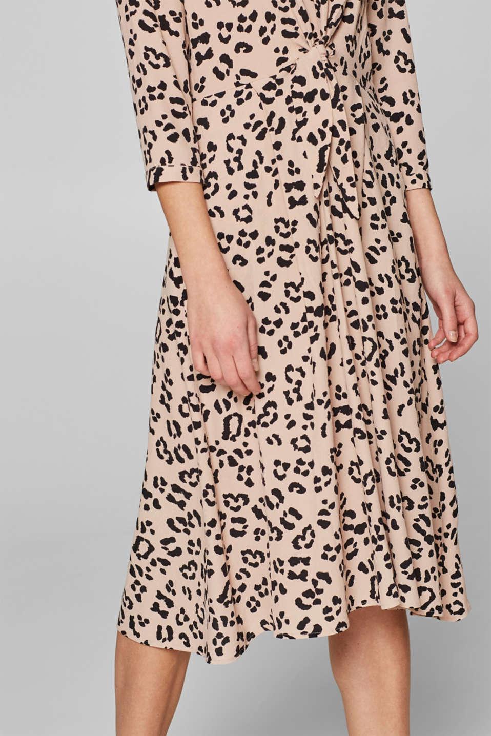 Dresses light woven, BEIGE, detail image number 3