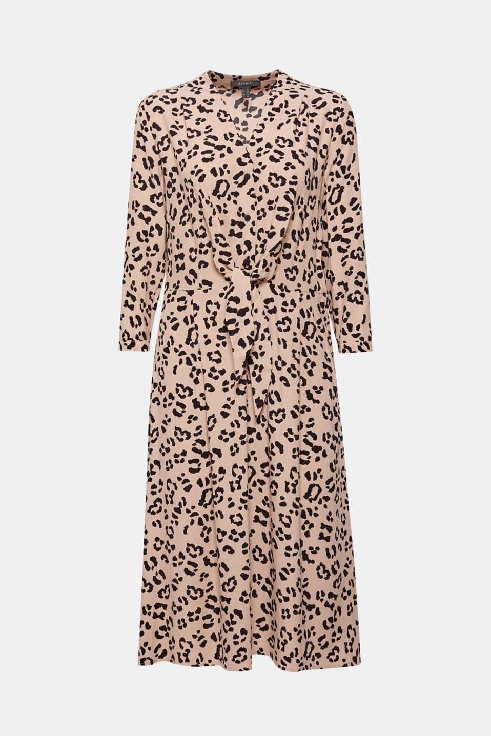 Dresses light woven, BEIGE, detail image number 6