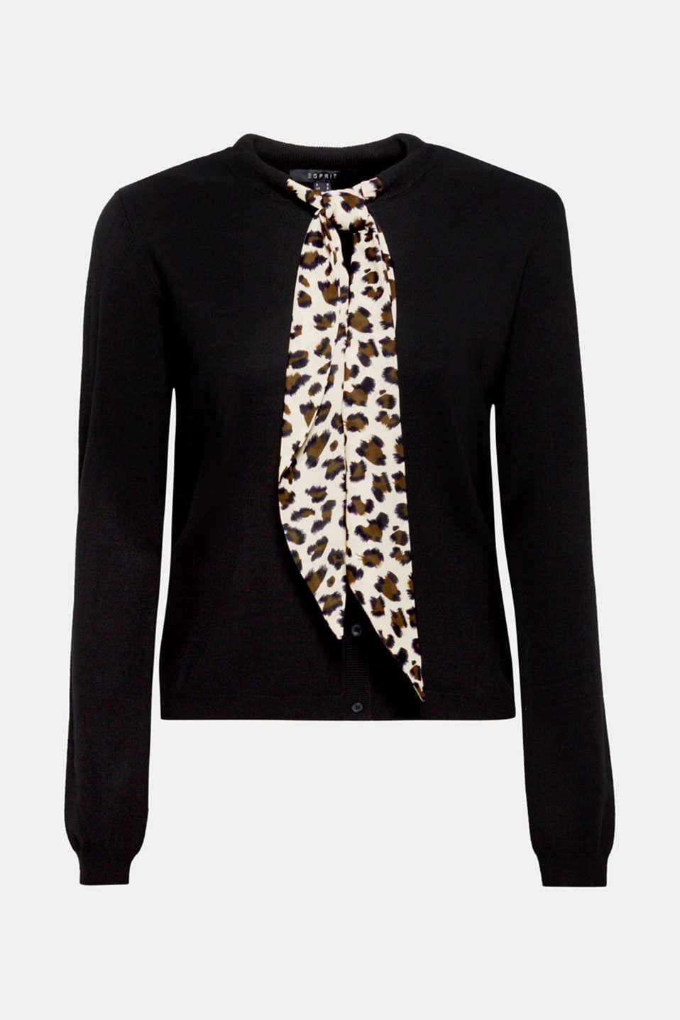 Sweaters cardigan, BLACK, detail image number 9