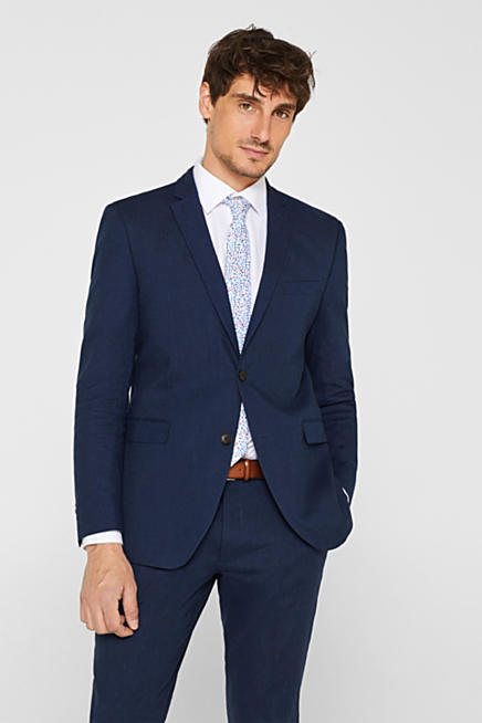 65299c993c947f SUMMER LINEN Mix + Match: giacca da completo in misto lino