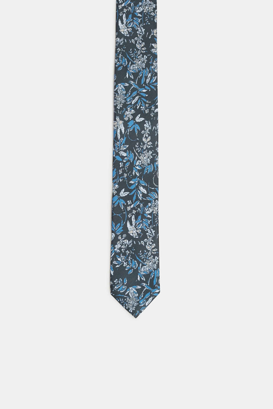 Esprit - Tie with floral pattern