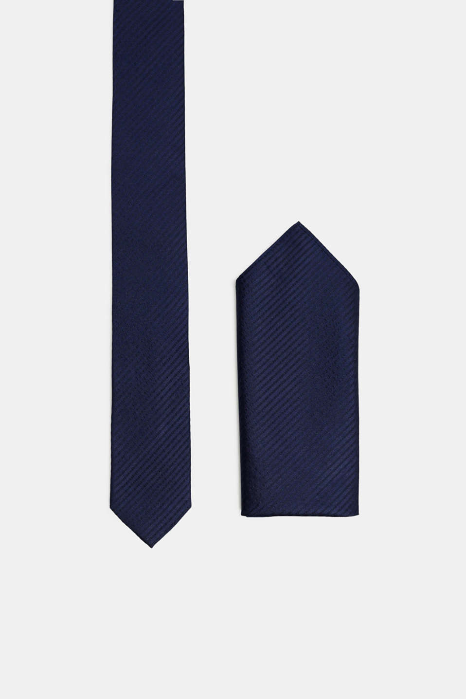 Esprit - Tie and pocket square set