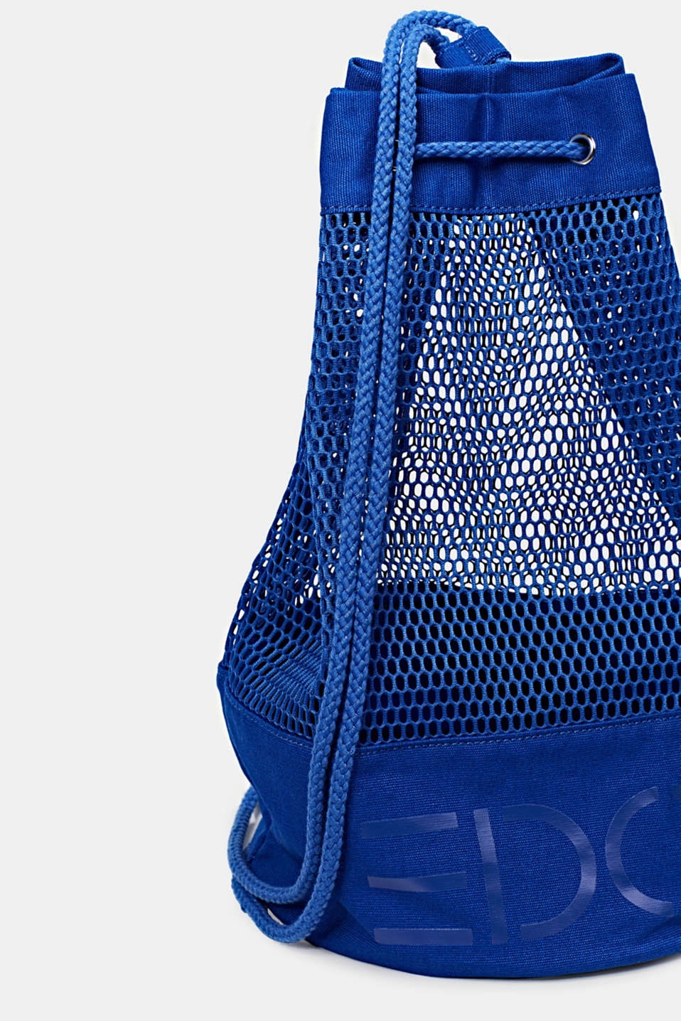 Airy mesh bag, BRIGHT BLUE, detail image number 3