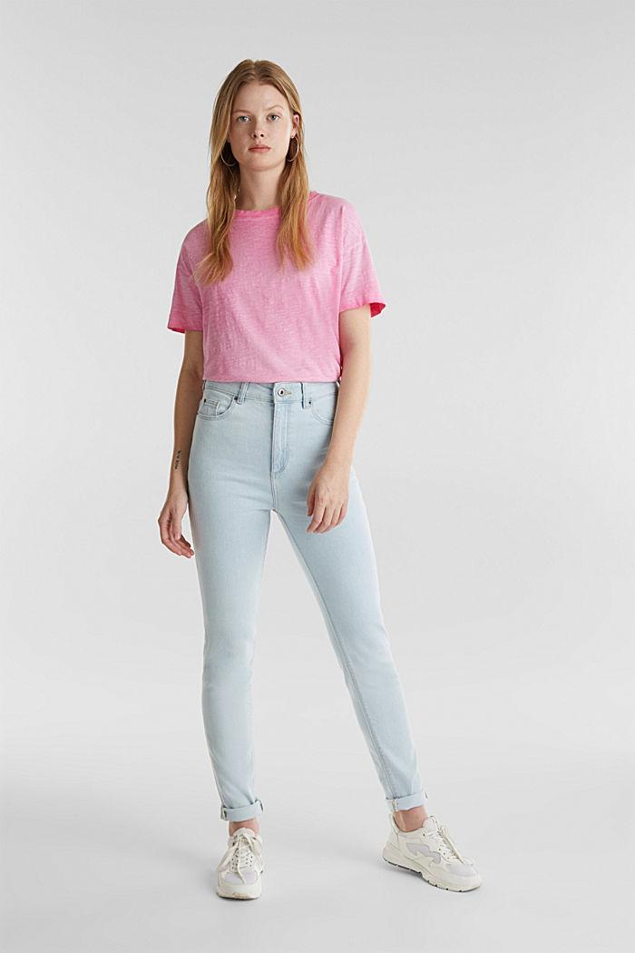 Jeans mit extra-hohem Bund, BLUE BLEACHED, detail image number 0