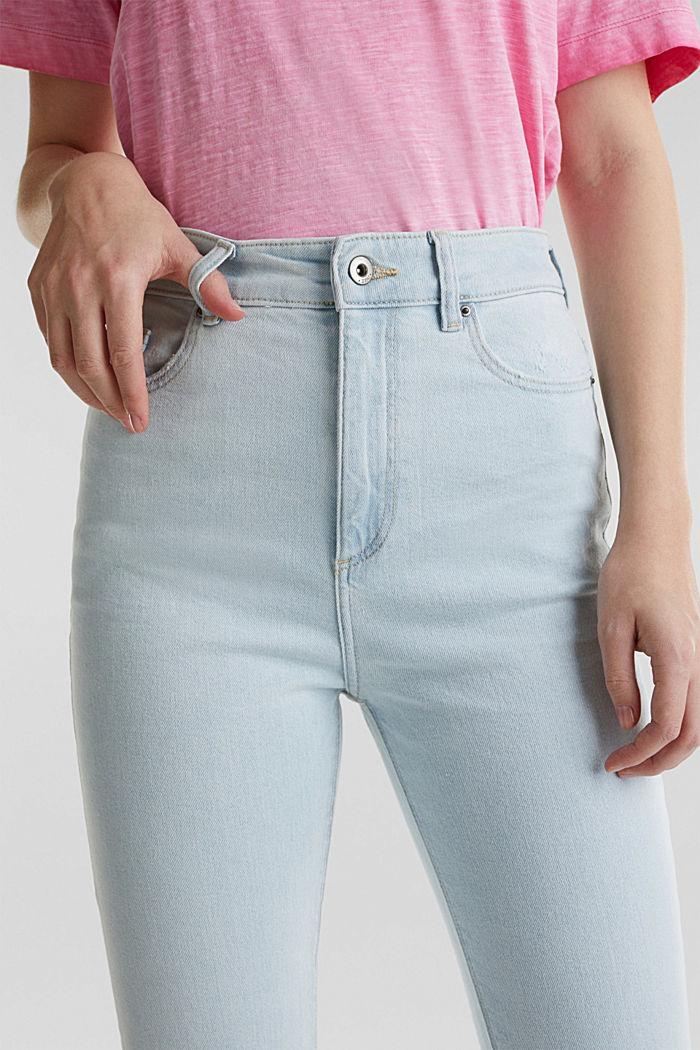 Jeans mit extra-hohem Bund, BLUE BLEACHED, detail image number 2