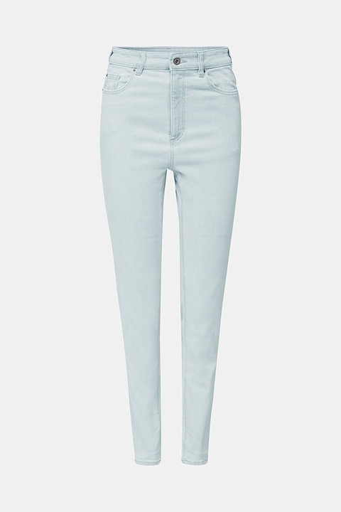 Jeans with an extra high rise waistband