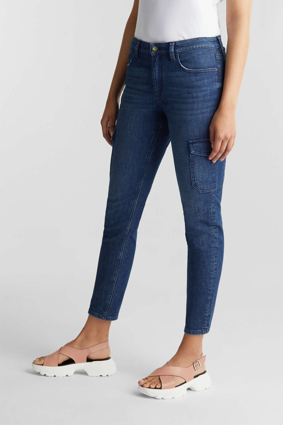 edc - Ankle-length cargo jeans