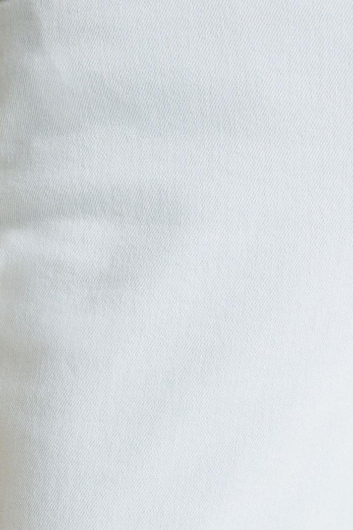 Bleached jeans met knoopgulp, BLUE BLEACHED, detail image number 4