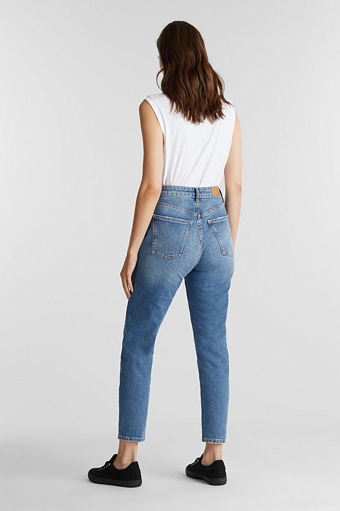 Jeans im Washed-Look, BLUE MEDIUM WASHED, detail image number 3